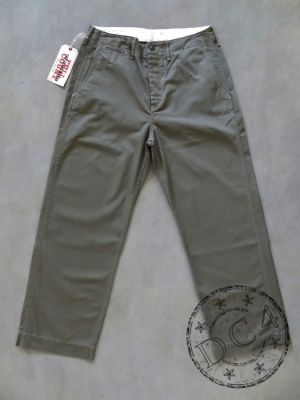 FULLCOUNT 1201-20A - U.S. Army Chino 41 Khaki - Surge Green