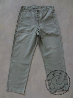 FULLCOUNT 1992-20 - Utility Trousers - Olive Drab