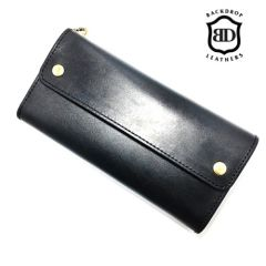 BACKDROP Leathers - LONG BILL WALLET