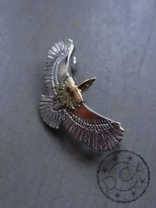 First Arrow`s - Silver Eagle with Gold Head