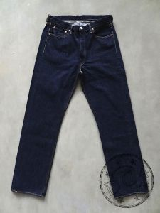 FULLCOUNT - 1101 XX-W - Original Straight - 100% Zimbabwe Cotton - 15.5oz Selvedge Denim - One Washed