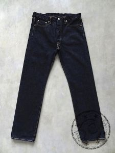 FULLCOUNT - 1108 XX-W - Straight - 100% Zimbabwe Cotton - 15.5oz Selvedge Denim - One Washed
