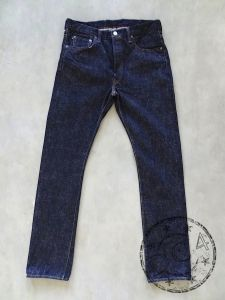 FULLCOUNT - 1109 SR-W - ** SUPER ROUGH ** - Slim Straight - 15.5oz Selvedge Denim - One Washed
