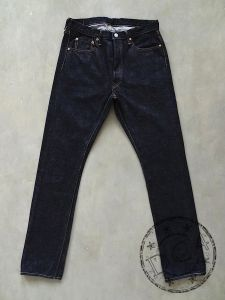FULLCOUNT - 1110 XX-W - Tapered Middle Straight - 100% Zimbabwe Cotton - 15.5oz Selvedge Denim - One Washed