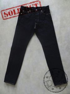 ONI Denim - 246ZR-LT17-G - Low Tension - 17oz Dark Indigo - Neat Regular Straight