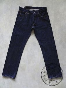 ONI Denim - 515 KIRAKU-II - 12oz Natural Indigo - Rope Dyed - Semi-Tight Straight