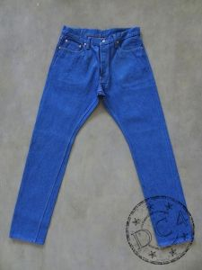 Pure Blue Japan - BG-019 - 14.5oz Indigo x Grey - Relaxed Tapered