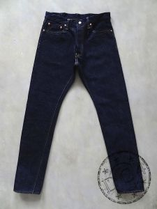 Pure Blue Japan - SLB-019 - 16.5oz Slub Denim Jeans - Relaxed Tapered