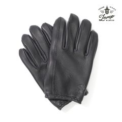 Lamp Gloves - Deerskin Leather - Utility Glove Shorty – BLACK