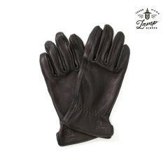 Lamp Gloves - Deerskin Leather - Utility Glove Standard – BLACK