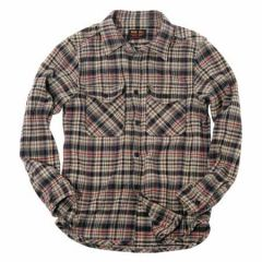 UES - 15.5oz Extra Heavy Flannel Shirt - Navy 502053 - ONE OF THE HEAVIEST FLANNELS !
