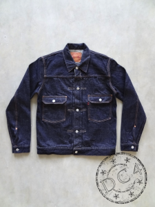FULLCOUNT - 2870W - Type II Jacket - 13.7oz Selvedge Denim - 100% Zimbabwe Cotton - Tight Fit - One Washed