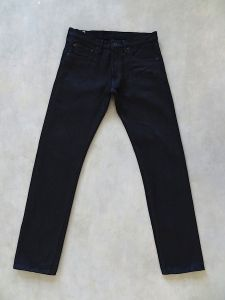 ONI Denim - 546 AIZ x BK - 20oz SECRET AIZUMI BLACK DENIM - Semi Tight Straight