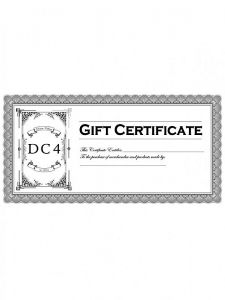 DC4 - Gift Card 100,-€