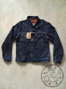 ONI Denim - 02527P-ZR - 20oz SECRET DENIM - Type III Jacket with side pockets