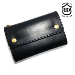 BACKDROP Leathers - MIDDLE BILL WALLET