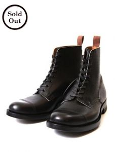 CLINCH BOOTS - Graham - Embossed French Calf Leather - Black