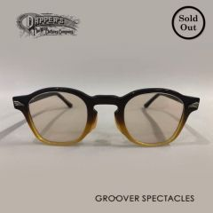 DAPPER`S  ✬  GROOVER - Special Collaboration Eyewear - Series 6th - Type DOLL - Brown Two-Tone