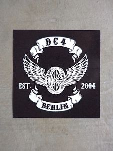 DC4 Sticker ** FLYING WHEEL **