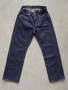 "FULLCOUNT - 1373  - "" SON OF THE SOIL DENIM "" - Straight - 100% Zimbabwe Cotton - 13.7oz Selvedge Denim - One Washed"