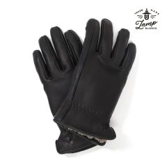 Lamp Gloves - Deerskin Leather - Sheepskin Lined - Winter Glove – BLACK