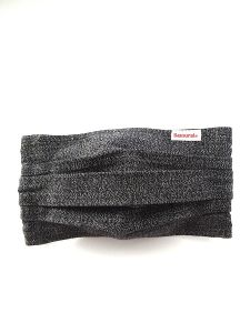 Samurai Jeans - Face Mask - Black Chambray
