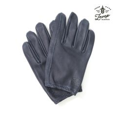 Lamp Gloves - Deerskin Leather - Utility Glove Shorty – NAVY