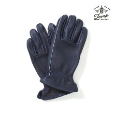 Lamp Gloves - Deerskin Leather - Utility Glove Standard – NAVY