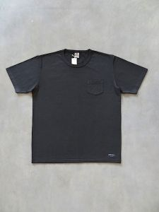 TROPHY CLOTHING - OD Pocket T-Shirt - Volume Cotton - Gun Black