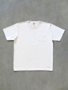 TROPHY CLOTHING - OD Pocket T-Shirt - Volume Cotton - Natural
