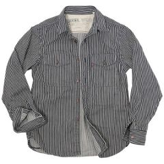 UES - Traveling Shirt - Branded Buttons - Hickory 500TS