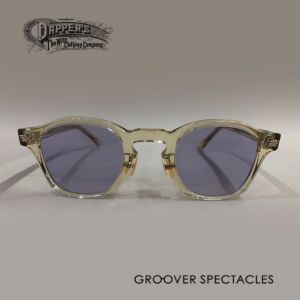DAPPER`S  ✬  GROOVER - Special Collaboration Eyewear - Series 6th - Type DOLL - Clear Lemon
