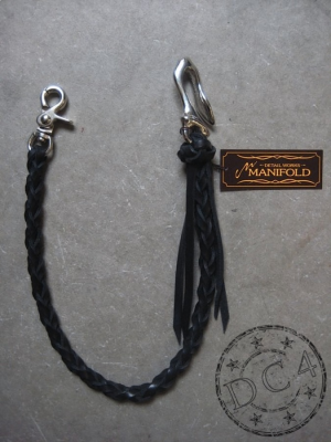 Manifold - Woven - Wallet Rope - Black