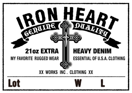 DC4 & IRON HEART Collaboartion DC4001