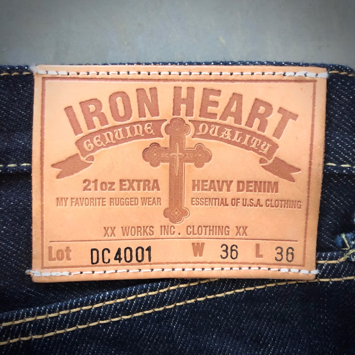 DC4 x IRON HEART